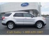 2013 Ingot Silver Metallic Ford Explorer XLT EcoBoost #62507991