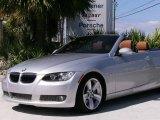 2007 Titanium Silver Metallic BMW 3 Series 335i Convertible #543164