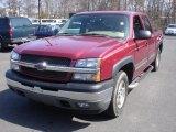 2005 Sport Red Metallic Chevrolet Silverado 1500 Z71 Crew Cab 4x4 #62507950
