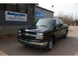 2004 Black Chevrolet Silverado 1500 LS Extended Cab 4x4 #62518699