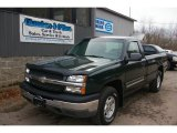 2003 Dark Green Metallic Chevrolet Silverado 1500 Regular Cab 4x4 #62518696