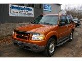 2001 Mandarin Copper Metallic Ford Explorer Sport 4x4 #62518695