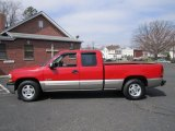 1999 Victory Red Chevrolet Silverado 1500 LS Extended Cab #62518783