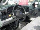 2007 Ford F550 Super Duty XL Regular Cab Cargo Truck Dashboard