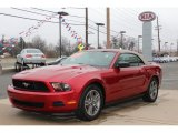 2011 Red Candy Metallic Ford Mustang V6 Premium Convertible #62530981
