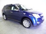 2010 Navy Blue Metallic Chevrolet Equinox LTZ AWD #62530612