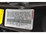2003 ES Color Code for Black Garnet Pearl - Color Code: 3Q2