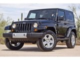 2011 Black Jeep Wrangler Sahara 4x4 #62530241