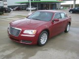 2012 Deep Cherry Red Crystal Pearl Chrysler 300  #62530585