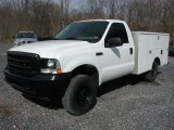 2003 Ford F350 Super Duty XL Regular Cab 4x4 Chassis Data, Info and Specs