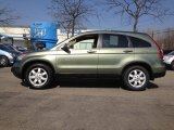 2009 Green Tea Metallic Honda CR-V EX-L 4WD #62530871