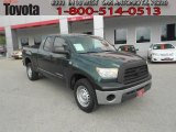 2008 Timberland Green Mica Toyota Tundra Double Cab #62530208