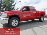 2012 Victory Red Chevrolet Silverado 1500 LT Extended Cab 4x4 #62530197