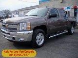 2012 Mocha Steel Metallic Chevrolet Silverado 1500 LT Crew Cab 4x4 #62530195
