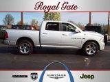 2011 Bright Silver Metallic Dodge Ram 1500 Sport Crew Cab 4x4 #62530845
