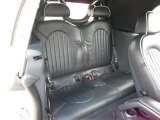 2008 Mini Cooper Convertible Sidewalk Edition Rear Seat