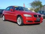 2011 Crimson Red BMW 3 Series 328i xDrive Sedan #62530152