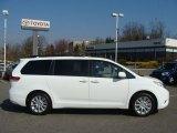 2012 Super White Toyota Sienna XLE AWD #62530495