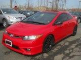 2007 Rallye Red Honda Civic Si Coupe #62530791