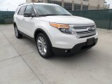 2013 White Platinum Tri-Coat Ford Explorer XLT #62530474