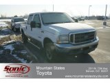 2004 Oxford White Ford F250 Super Duty FX4 Crew Cab 4x4 #62530078