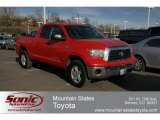 2007 Radiant Red Toyota Tundra SR5 Double Cab 4x4 #62530074