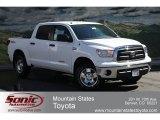 2012 Super White Toyota Tundra SR5 TRD CrewMax 4x4 #62530073
