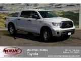2012 Super White Toyota Tundra SR5 TRD CrewMax 4x4 #62530070