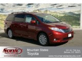 2012 Salsa Red Pearl Toyota Sienna Limited AWD #62530042