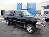 2001 Black Dodge Ram 1500 SLT Regular Cab 4x4 #62530435