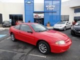 2003 Victory Red Chevrolet Cavalier LS Coupe #62530431