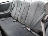 2003 Chevrolet Cavalier LS Coupe Rear Seat