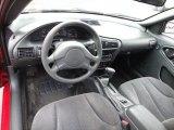 2003 Chevrolet Cavalier LS Coupe Graphite Gray Interior