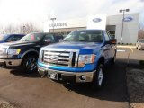 2012 Blue Flame Metallic Ford F150 XLT SuperCab 4x4 #62530704