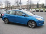 2012 Blue Candy Metallic Ford Focus SE Sport Sedan #62530676