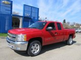 2012 Victory Red Chevrolet Silverado 1500 LT Extended Cab 4x4 #62596174