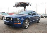 2006 Vista Blue Metallic Ford Mustang GT Premium Convertible #62596489