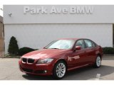 2011 Vermillion Red Metallic BMW 3 Series 328i xDrive Sedan #62596123