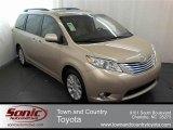2012 Sandy Beach Metallic Toyota Sienna Limited AWD #62596467
