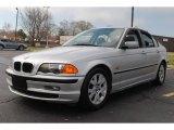 2000 Titanium Silver Metallic BMW 3 Series 323i Sedan #62596453
