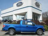 2012 Blue Flame Metallic Ford F150 STX SuperCab 4x4 #62596067