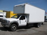 2005 Ford F550 Super Duty XL Regular Cab Moving Truck Data, Info and Specs