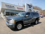 2008 Blue Granite Metallic Chevrolet Silverado 1500 LS Regular Cab #62596412