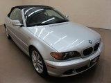 2004 Silver Grey Metallic BMW 3 Series 330i Convertible #62596012