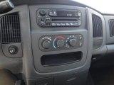 2003 Dodge Ram 1500 SLT Quad Cab 4x4 Controls