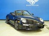 2012 Basalt Black Metallic Porsche 911 Black Edition Cabriolet #62596000