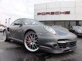 2007 Slate Grey Metallic Porsche 911 Turbo Coupe #62595966