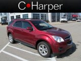 2010 Cardinal Red Metallic Chevrolet Equinox LT AWD #62595959
