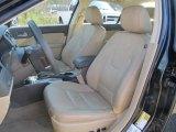 2011 Ford Fusion SEL V6 AWD Camel Interior