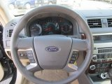 2011 Ford Fusion SEL V6 AWD Steering Wheel